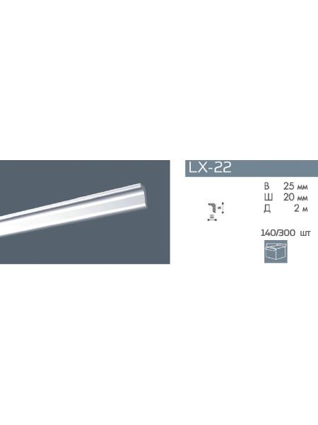 LX-22 Плинтус NMC