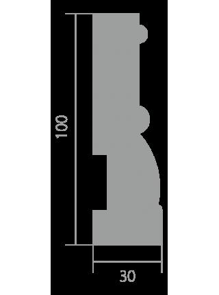 Плинтус напольный Ultrawood Base 0014