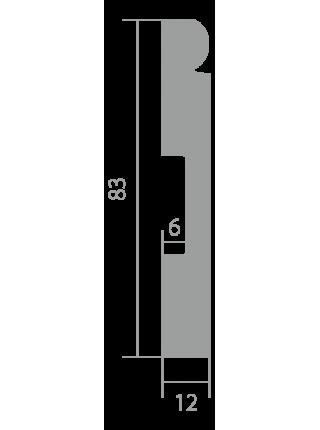 Плинтус напольный Ultrawood Base 5051
