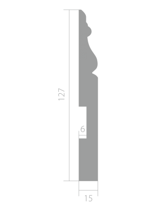 Плинтус напольный Ultrawood Base 5270