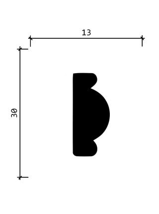157A  (30мм/ 13 мм)
