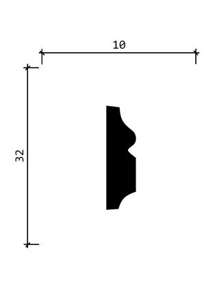 DD603  (32 мм/ 10 мм)