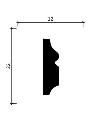 DD605  (22 мм/ 12 мм)