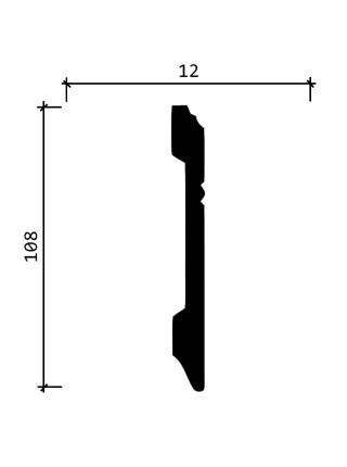 DD105  (108 мм/ 12 мм)