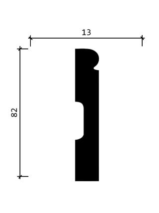 DD49  (82 мм/ 13 мм)