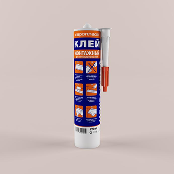Клей Европласт Монтажный 290 мл. E01.M.290