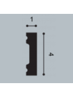 Плинтус напольный Orac Decor AXXENT® SX162