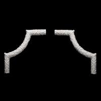 1.52.300  Угловой  элемент Европласт
