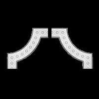 1.52.376  Угловой  элемент Европласт
