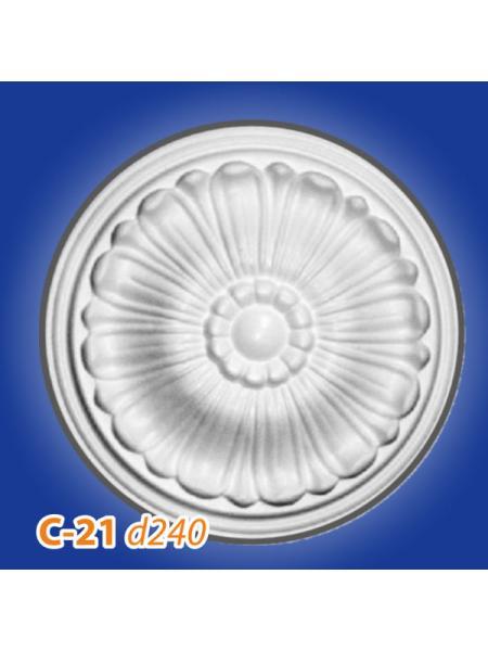C21 Розетка потолочная Glanzepol