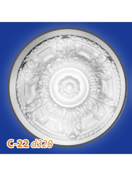 C22 Розетка потолочная Glanzepol