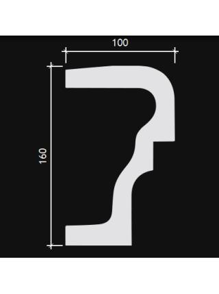 4.82.001 Подоконный элемент (160мм/100мм)