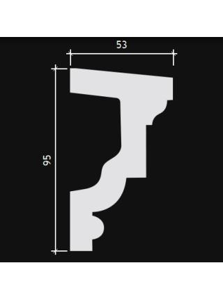 4.82.202 Подоконный элемент (95мм/53мм)