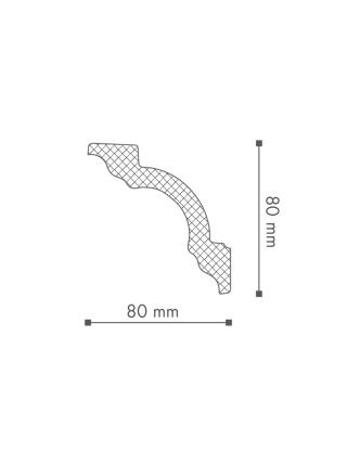 Потолочный плинтус (карниз) NMC A1 (LX-110)