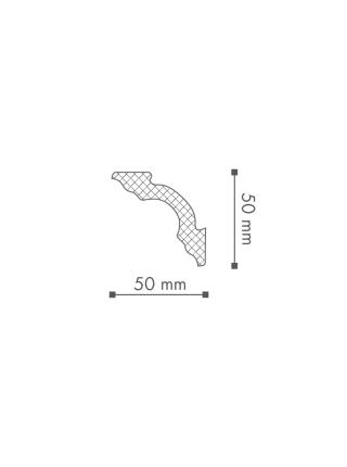 Потолочный плинтус (карниз) NMC A2 (LX-50)