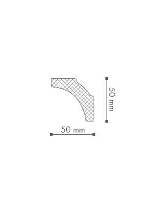Потолочный плинтус (карниз) NMC B5 (LX-65)
