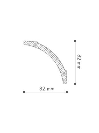 Потолочный плинтус (карниз) NMC B8