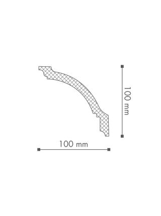 Потолочный плинтус (карниз) NMC GP (LX-135)