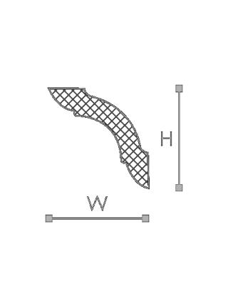 Потолочный плинтус (карниз) NMC MX (LX-48)