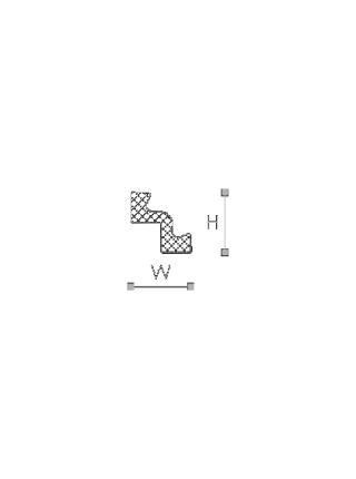 Потолочный плинтус (карниз) NMC ST2