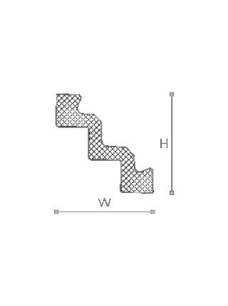 Потолочный плинтус (карниз) NMC ST3