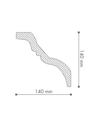 Потолочный плинтус (карниз) NMC TI