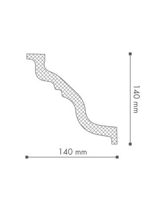 Потолочный плинтус (карниз) NMC TL