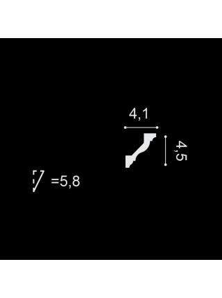 Потолочный плинтус (карниз) OracDecor CX110