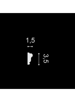 PX117 Молдинг(35мм/15мм)