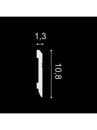 SX105 (108 мм/13 мм) Плинтус напольный