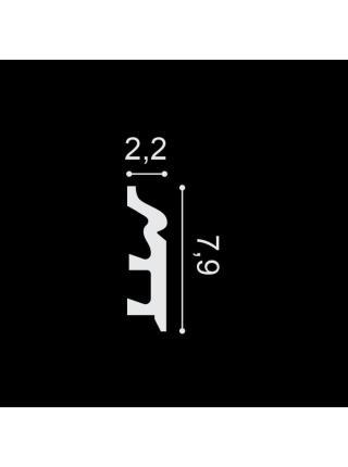 SX122 (79мм/22 мм) Плинтус напольный