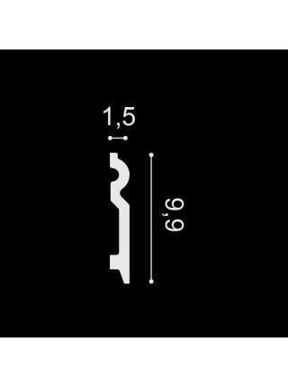 SX137 (99мм/15 мм) Плинтус напольный
