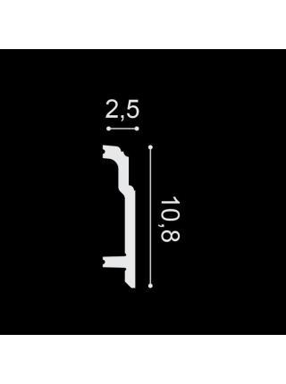 SX155 (108мм/25 мм) Плинтус напольный