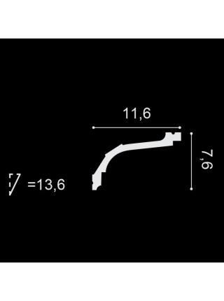 Потолочный плинтус (карниз) OracDecor C220