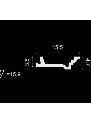 Потолочный плинтус (карниз) OracDecor C305