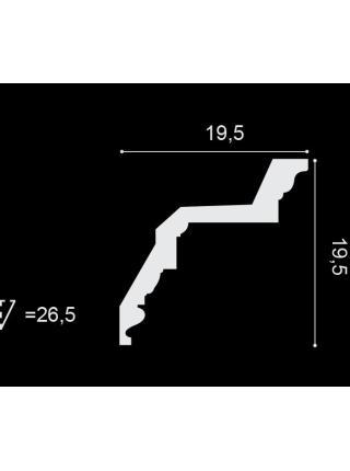 Потолочный плинтус (карниз) OracDecor C307