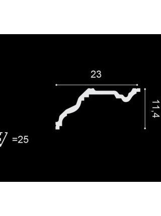 Потолочный плинтус (карниз) OracDecor C332