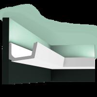 Потолочный плинтус (карниз) OracDecor C357 Straight