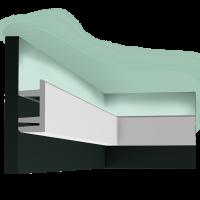 Потолочный плинтус (карниз) OracDecor C381
