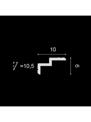 Потолочный плинтус (карниз) OracDecor C390 Steps