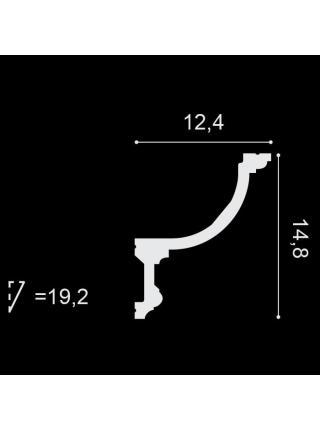 Потолочный плинтус (карниз) OracDecor C901