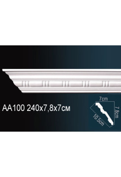 Потолочный плинтус (карниз) Perfect AA100