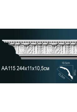 Потолочный плинтус (карниз) Perfect AA115