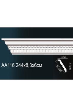Потолочный плинтус (карниз) Perfect AA116