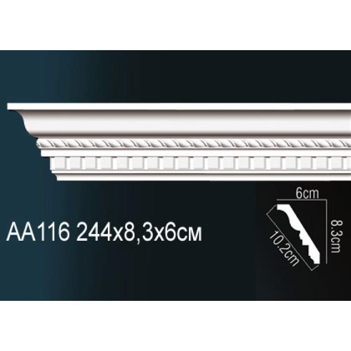 Потолочный плинтус (карниз) Perfect® AA116