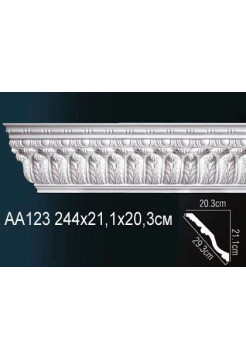 Потолочный плинтус (карниз) Perfect AA123