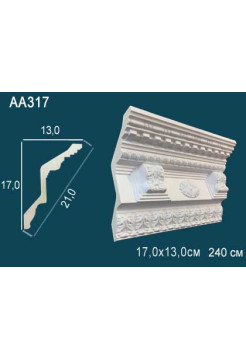 Потолочный плинтус (карниз) Perfect AA317