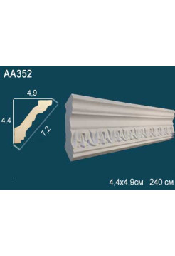 Потолочный плинтус (карниз) Perfect AA352
