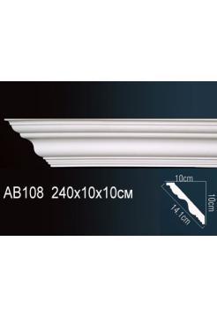 Потолочный плинтус (карниз) Perfect AB108