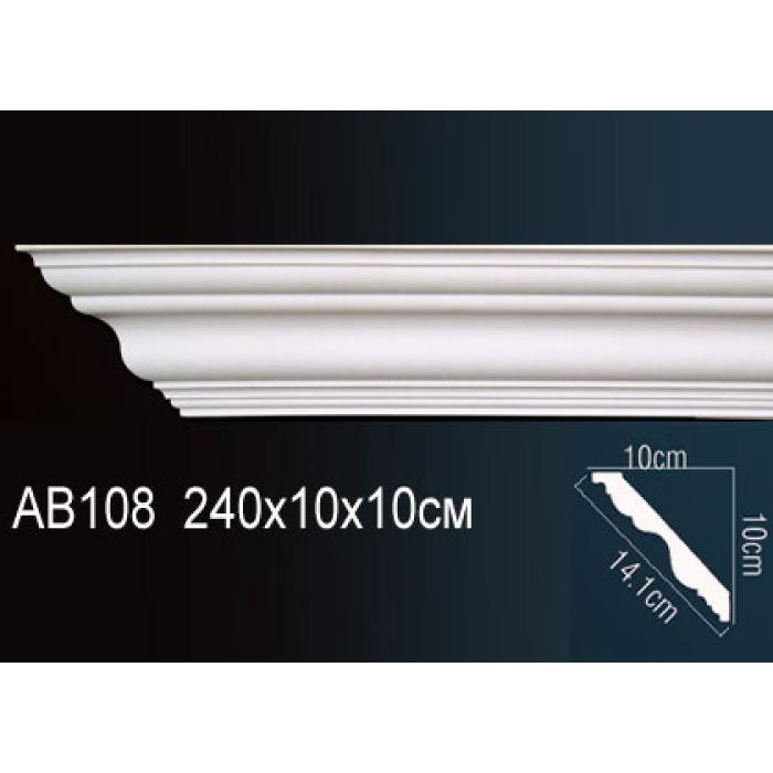 Потолочный плинтус (карниз) Perfect® AB108